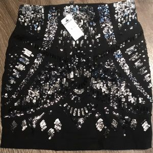 Sparkle Mini Express Skirt